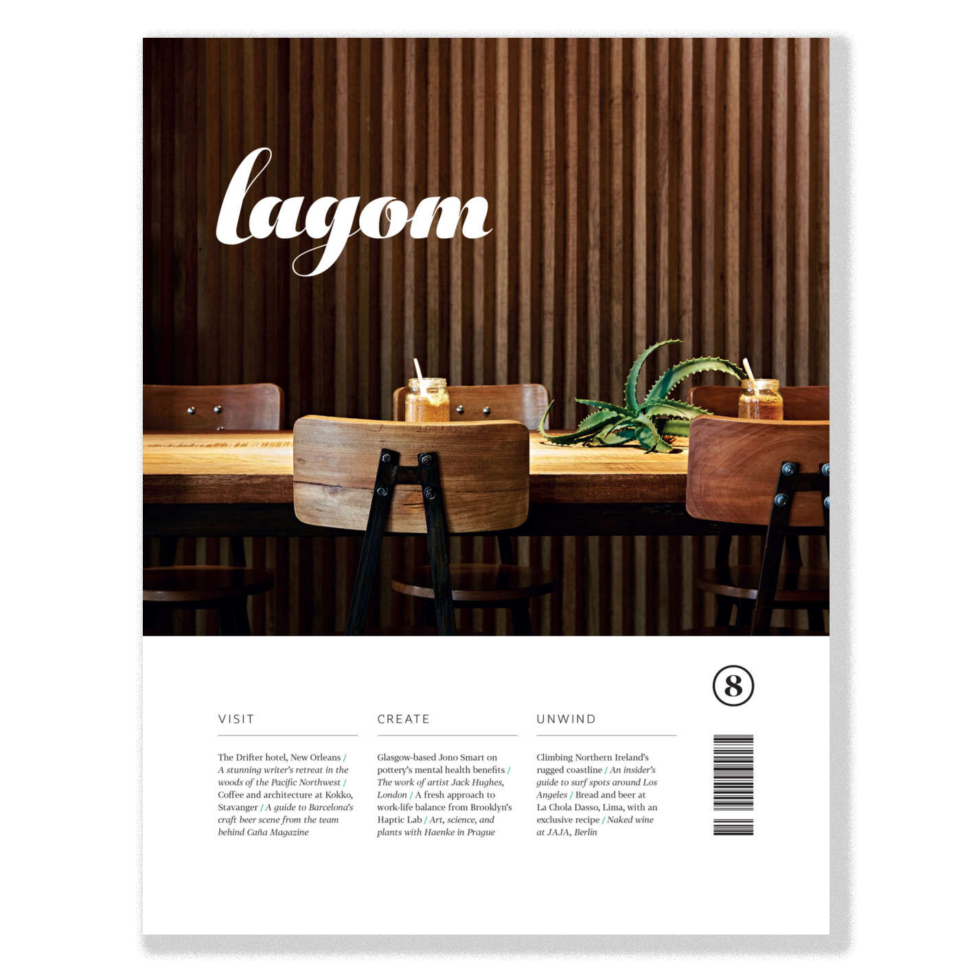 Creating a digital revenue vehicle for print magazine Lagom cover image